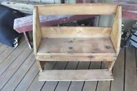 Antique Primitive Child's Bench - Schoolhouse