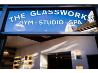 Receptionist for The Glassworks Gym & Spa