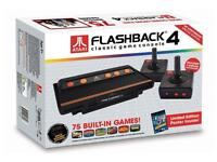Atari Flashback 4 channels 2600 nostalgia with a 75 game bundle PRR £60