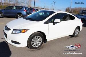 2012 Honda Civic Cpe LX * 31,88$/sem *