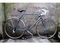 DAWES WARWICK, 24 inch, Reynolds frame 531 fork, vintage racer racing road bike, 12 speed
