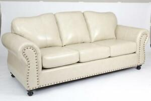 Canadian Made Sofa with Studed arms (AC15)
