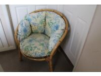 Cane 2 Seater Sofa and 2 Chairs. Very good condition