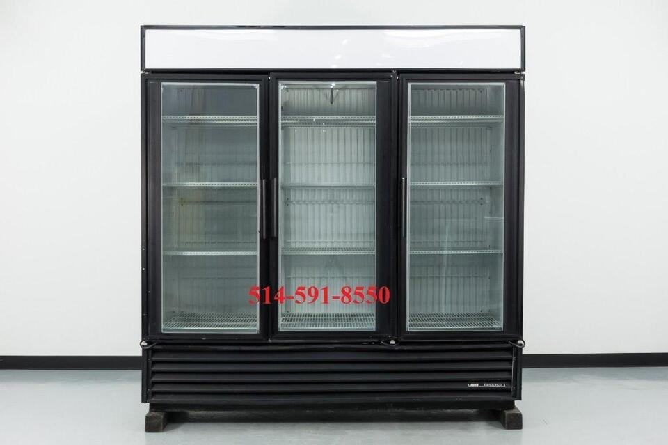 True Refrigerateur Congelateur Portes Vitree Fridge - Refrigerateur 3 portes