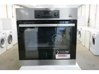 AEG BES351010M SteamBake Multifunction Built-in Single Oven in Stainless Steel