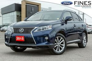 2015 Lexus RX 350 Sportdesign - LEATHER, ROOF, NAVIGATION!