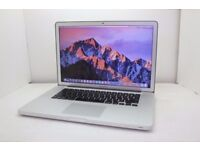 TOP SPEC MACBOOK PRO 15 INCH 3.6GHZ i7 QUAD CORE, 4-16GB RAM, 500GB HD, OFFICE 2016, ADOBE CS6