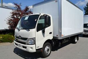 2016 Hino 195 c/w 18' Van 8'6 wide X 8' high. Comes with ...