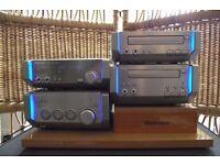 technics sc-hd55 hi fi system lovely condition c/w shop plinth