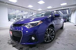 2014 Toyota Corolla S, ALLOYS, LEATHER, ONE OWNER, FULL SERVICE