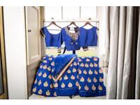 Wedding / Occassion wear Raw Silk Bespoke Lengha