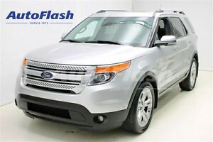 2013 Ford Explorer Limited 4X4 7-Pass.* Cuir * Toit * Camera * N