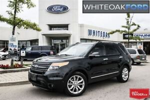 2015 Ford Explorer Limited, LOADED  FORD CERTIFIED
