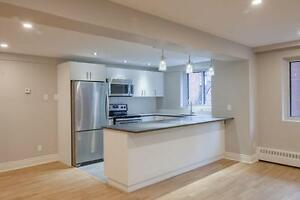 Downtown Spacious 4 1/2 -First Class Renos - New Kitchen & Bath