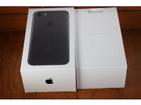 ***BRAND NEW*** iPhone 7 Plus 128GB - Matt Black (Unlocked) WITHOUT HEADPHONES