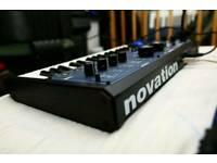 NOVATION MININOVA SYNTH -with gigging bag & box - in mint condition