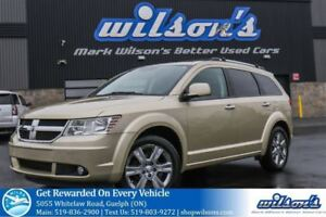 2010 Dodge Journey R/T AWD 7-PASS SUV! LEATHER! SUNROOF! TV/DVD!