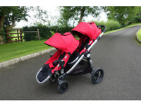 Baby Jogger City Select - twin pram / stroller / buggy / push chair / travel system / maxicosi