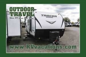 2018 FOREST RIVER Tracer 24DBS Double Bunkhouse Travel Trailer