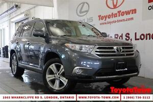2013 Toyota Highlander NEW PRICE! 7 PASSENGER LIMITED LEATHER NA