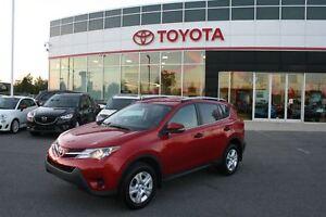 2013 Toyota RAV4 LE FWD **CAMERA RECUL **SEULEMENT 42 350KM**