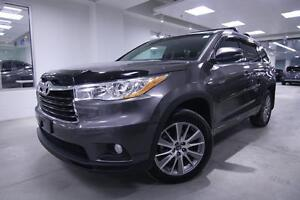 2016 Toyota Highlander XLE, NAV, ALLOYS, BACK UP CAM, ONE OWNER,