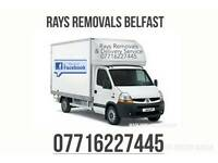 Rays Removals and delivery service man with a van/box van flat pack assembly