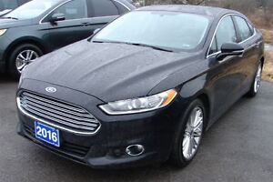2016 Ford Fusion SE Loaded with extras , nav,roof,remote start .