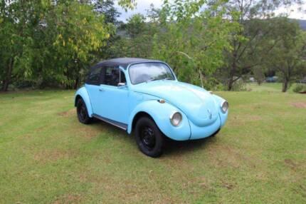 1971 Volkswagen Beetle Convertible Mudgeeraba Gold Coast South Preview