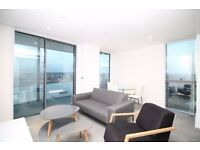 ** BRAND NEW LUXURY 1 BED APARTMENT, AMAZING RIVER VIEW, CANARY WHARF, E14 - AW