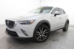 2016 Mazda CX-3 GT AWD *GPS + TOIT OUVRANT + MAGS + CUIR*
