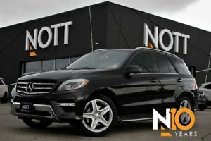 2015 Mercedes-Benz M-Class ML350, Bluetec 4Matic LOADED Premium