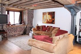 A fabulous designer furnished one double bedroom, two bathroom apartment set within a Grade I - KJ