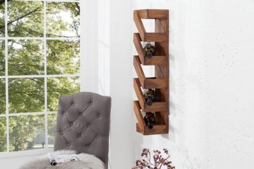 Design Weinregal Aus Holz Wein Regal Massivholz In Sachsen