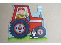 Early Learning Centre Tractor Jigsaw Puzzle Age 3-6
