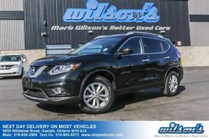 2016 Nissan Rogue SV AWD SUV! PANORAMIC SUNROOF! REAR CAM! HEATE