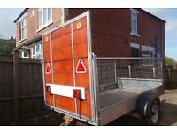 MESH TRAILER internal size L 7FT 1IN W 3FT 10IN