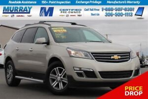 2015 Chevrolet Traverse LT*REMOTE START,HEATED SEATS,REAR PARKIN