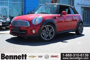 2015 MINI Cooper Convertible Cooper only under 500km (not a typo