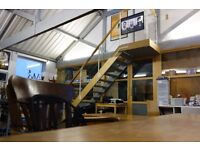 Lovely Bright Self Contained Office Space within Bright Quirky Shared Space near Holloway