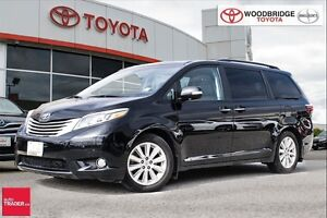 2015 Toyota Sienna Limited 7 Passenger. LEATHER, DVD, NAVIGATION
