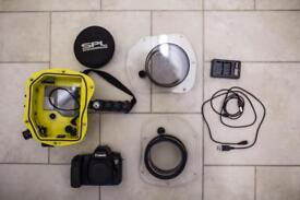 Canon 6D + SPL surf water housing + extras