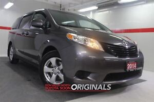 2014 Toyota Sienna AUX Cruise Alloys Pwr Wndws Mirrs Locks ABS A