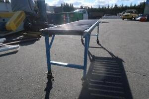 10 ft x 24 inches Roller Conveyor