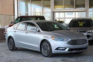 2017 Ford Fusion SE AWD Leather Moonroof & Navigation
