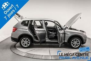2013 BMW X3 xDrive28i BANCS ET VOLANT CHAUFF. *PROMO PNEUS D'H