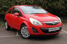 Vauxhall Corsa Excite Ac Ecoflex 3dr **FULL SERVICE HISTORY** (red) 2012
