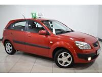 KIA RIO 1.5 S CRDI 5d 109 BHP (red) 2007