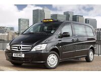 TX4 & MERC VITO TAXI AVAILABLE FOR RENT DAYSHIFT