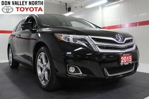 2015 Toyota Venza AWD Sunroof Btooth BU Camera Heated Lther